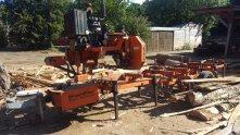 Buckleigh Farm Mobile Sawmill